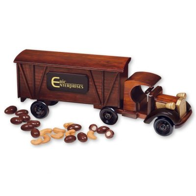 1920 Tractor-Trailer with Chocolate Almonds & Jumbo Cashews