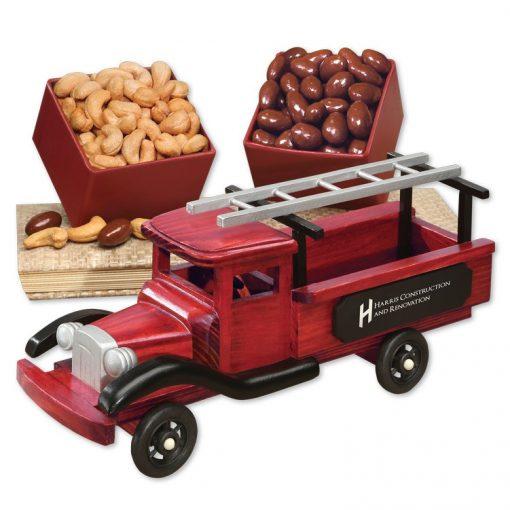 1940-Era Pick-up Truck with Chocolate Almonds & Extra Fancy Jumbo Cashews