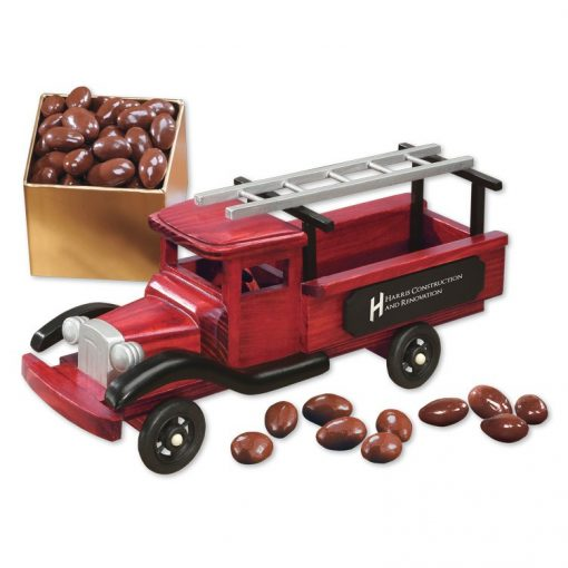 1940-Era Pick-up Truck with Chocolate Covered Almonds