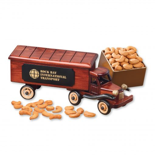 1940-Era Tractor-Trailer Truck with Extra Fancy Jumbo Cashews