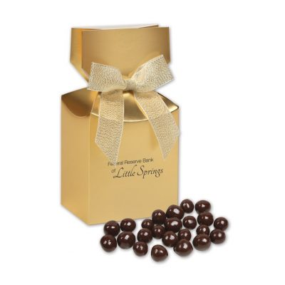 Barrel-Aged Bourbon Cordials in Gold Gift Box