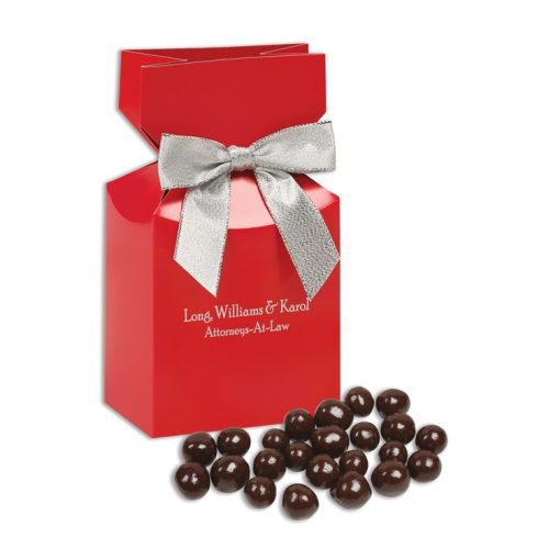 Barrel-Aged Bourbon Cordials in Red Gift Box