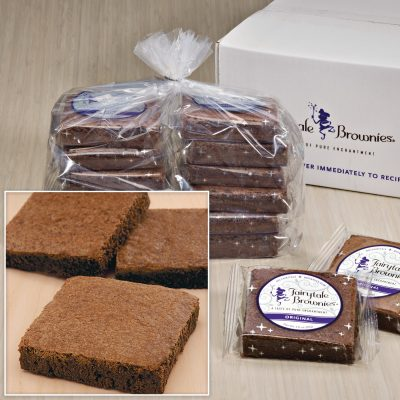 "Bulk Fairytale Brownies / 12 Single Flavor (3""x3"")"