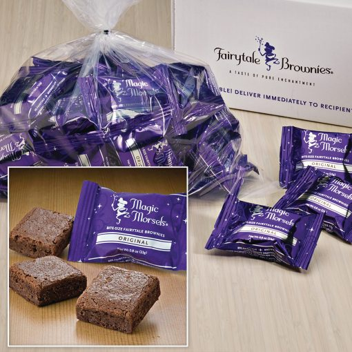 "Bulk Magic Morsels / 36 Single Flavor Brownies (1.5""x1.5"")"