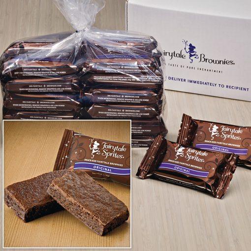 "Bulk Sprites / 24 Single Flavor Brownies (3""x1.5"")"