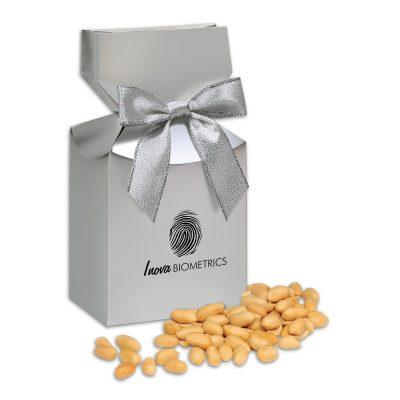 Choice Virginia Peanuts in Silver Premium Delights Gift Box