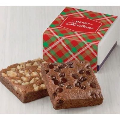 Christmas Occasion 2 Brownie Favor