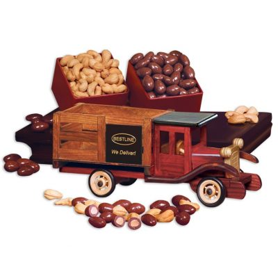 Classic 1925 Stake Truck with Cashews & Chocolate Almonds
