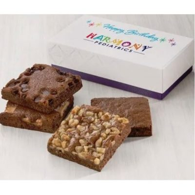 Custom Holiday Occasion 4-Brownie Favor