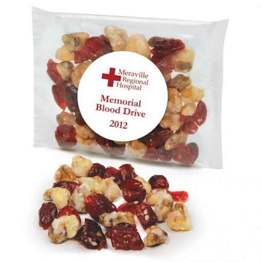Custom Labeled Cranberry Walnut Trail Mix