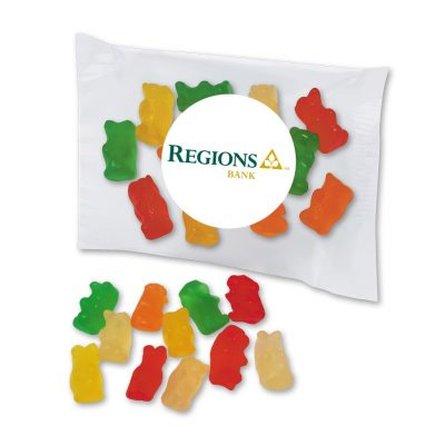 Custom Labeled Gummy Bears