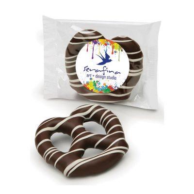 Dark Chocolate Dipped Pretzel