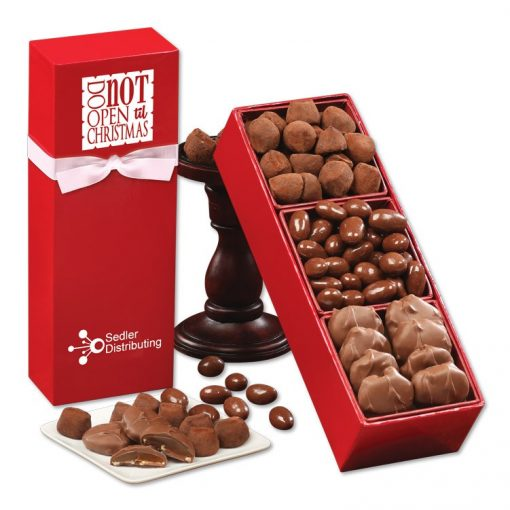 """Do Not Open 'til Christmas"" Chocolate Assortment"