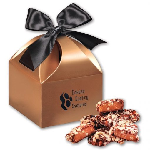 English Butter Toffee in Copper Gift Box