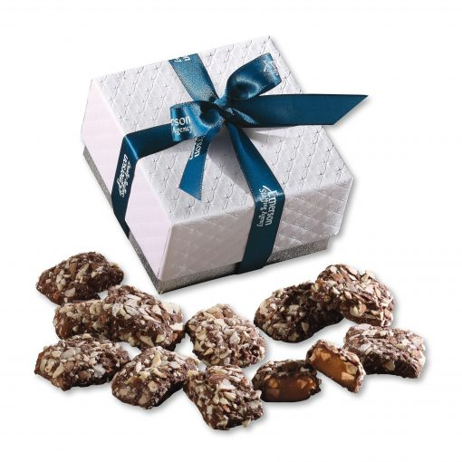 English Butter Toffee in Pillow Top Gift Box