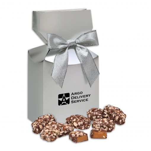 English Butter Toffee in Silver Premium Delights Gift Box