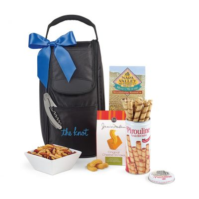 Everything But The Wine Gourmet Tote - Black
