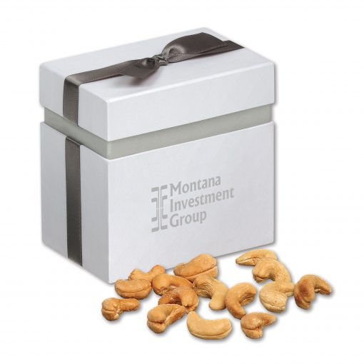 Extra Fancy Jumbo Cashews in Elegant Treats Gift Box