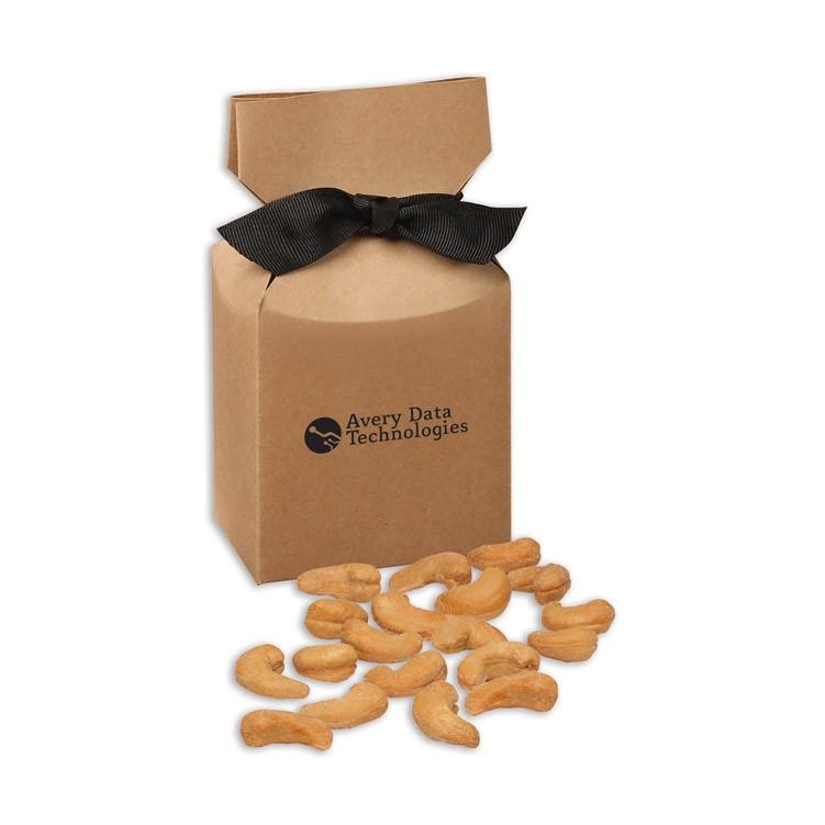 Extra Fancy Jumbo Cashews in Kraft Gift