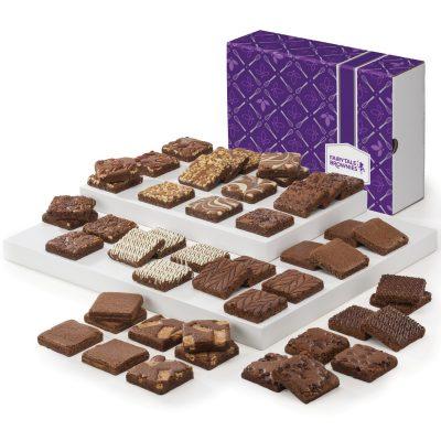 Fairytale Brownie Extravaganza - 48 Piece (Purple/ Brown Box)
