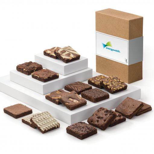 Fairytale Brownies Custom 18 In Kraft Gift Box w/Logo Band