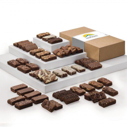 Fairytale Brownies Custom Sprites 48 in Kraft Gift Box