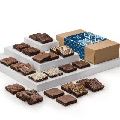 Fairytale Brownies Thank You Double Dozen (Kraft Box)