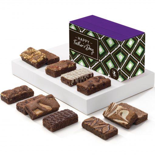 Father's Day Sprite Dozen Brownies (Treasure Box w/Band)