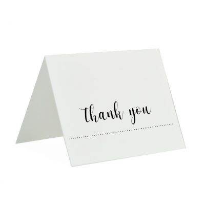 Gourmet Expressions Thank You Folding Greeting Card