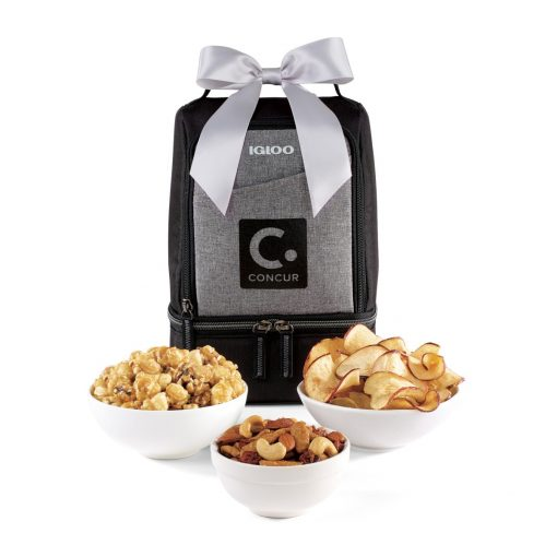 Igloo® Rowan Nosh Gourmet Lunch Cooler - Black