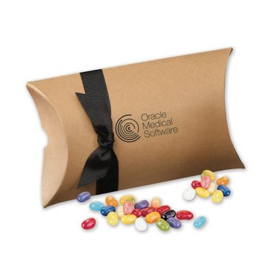 Jelly Belly® Jelly Beans in Kraft Pillow Pack Box