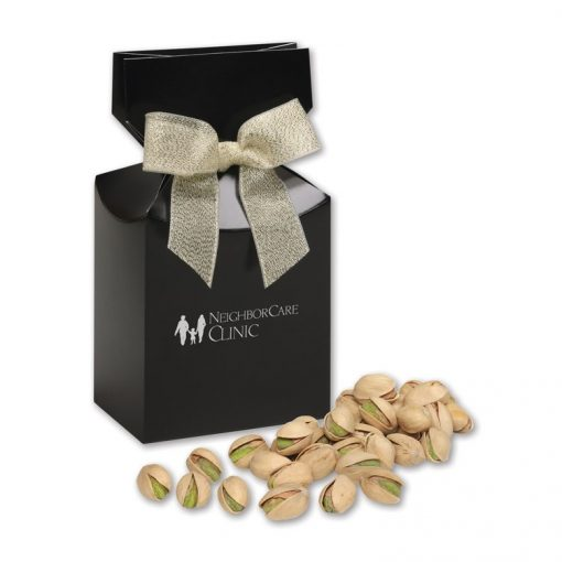 Jumbo California Pistachios in Black Gift Box