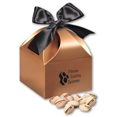 Jumbo California Pistachios in Copper Gift Box