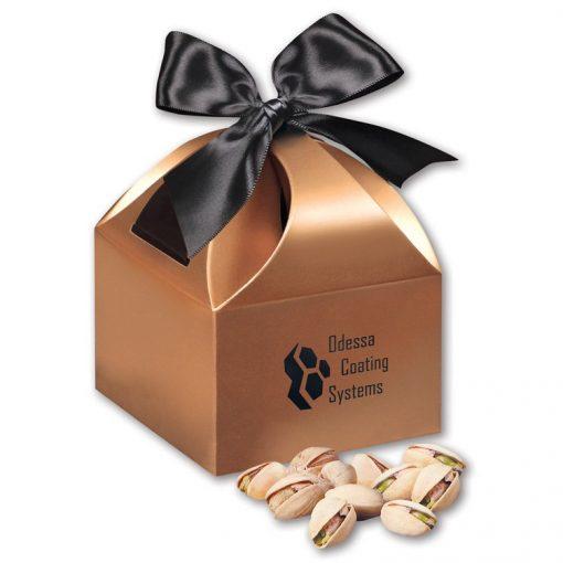 Jumbo California Pistachios in Copper Gift Box