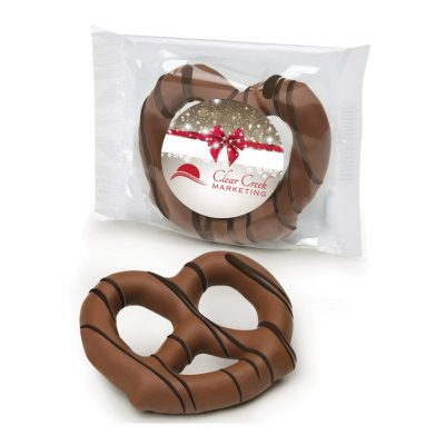 Milk Chocolate Dipped Pretzel
