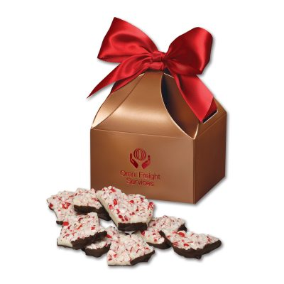 Peppermint Bark in Copper Classic Treats Gift Box