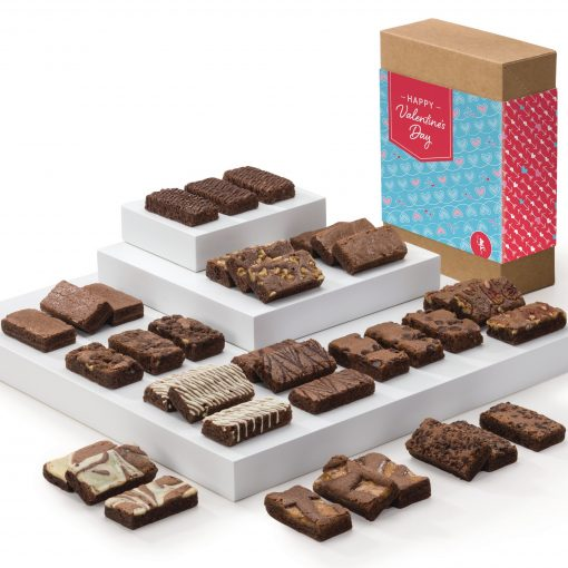 Valentine Sprite 36 Brownie (Kraft Box w/ Hearts & Arrows Band)