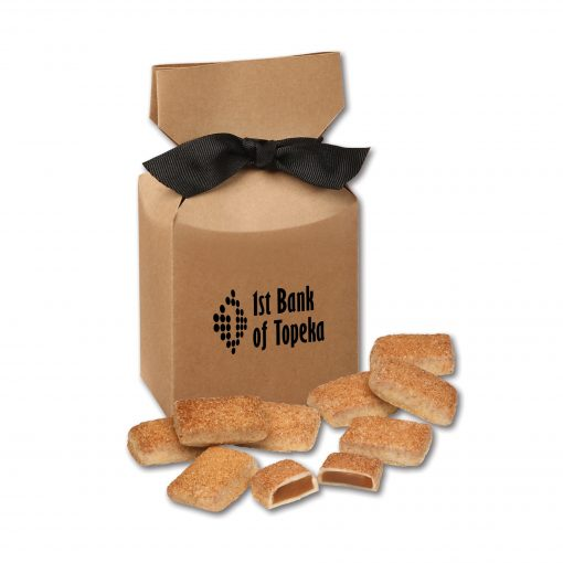 Cinnamon Churro Toffee in Kraft Premium Delights Gift Box