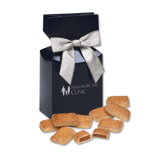 Cinnamon Churro Toffee in Navy Premium Delights Gift Box