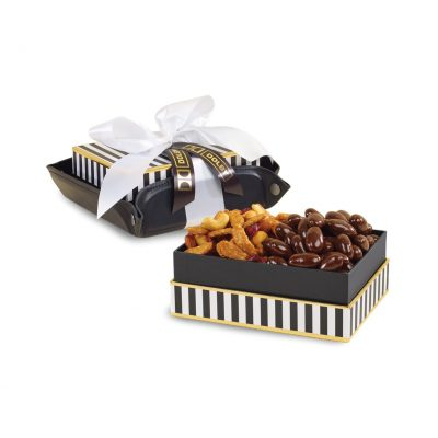 Exeter Executive Tray of Treats - Black-Black and White