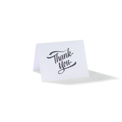 Gourmet Expressions Thank You Folding Greeting Card - Custom