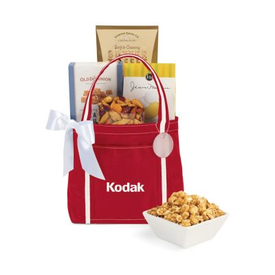 WFH Snack Tote - Red