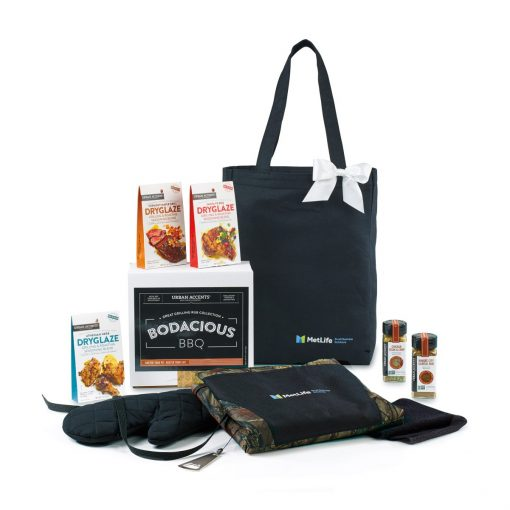 Bodacious BBQ Gift Set - Black-Camo