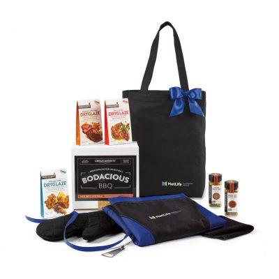 Bodacious BBQ Gift Set - Black-Royal