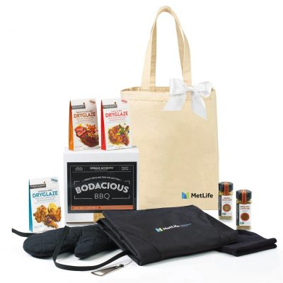 Bodacious BBQ Gift Set - Natural-Black