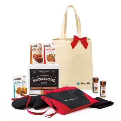 Bodacious BBQ Gift Set - Natural-Red