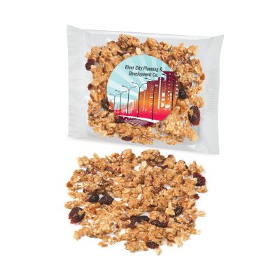 Custom Labeled Cranberry Almond Granola