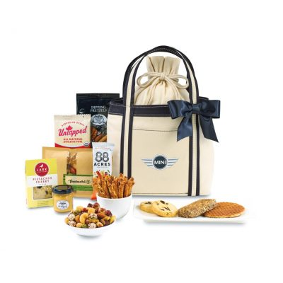 Piccolo Grab & Gourmet Snack Tote - Natural