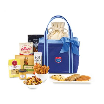 Piccolo Grab & Gourmet Snack Tote - Navy Blue