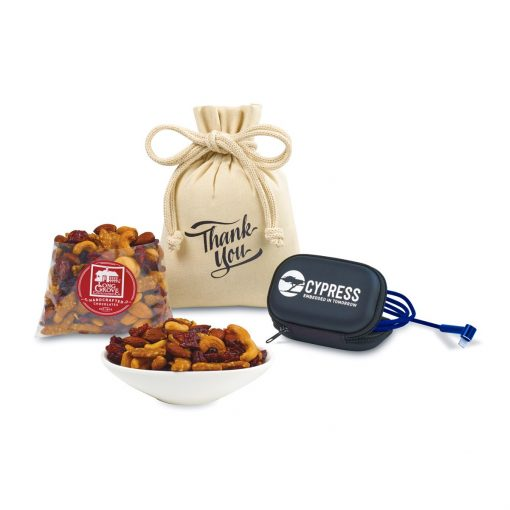 Re-Charge Snack & Side-Kick Gift Set - Royal Blue